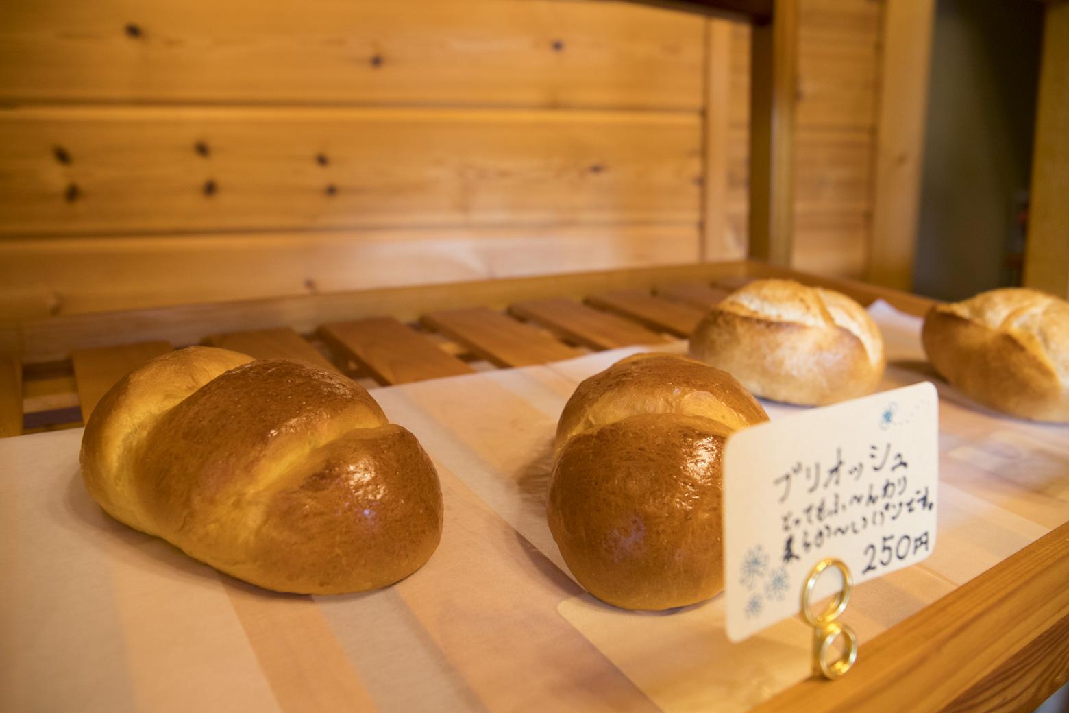 パンの山のブリオッシュ