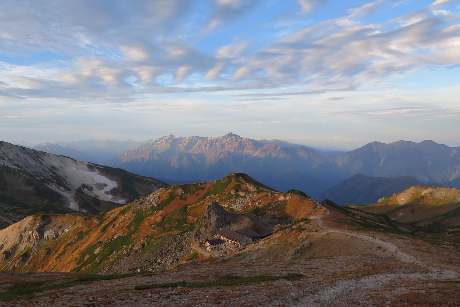白馬岳からの景色