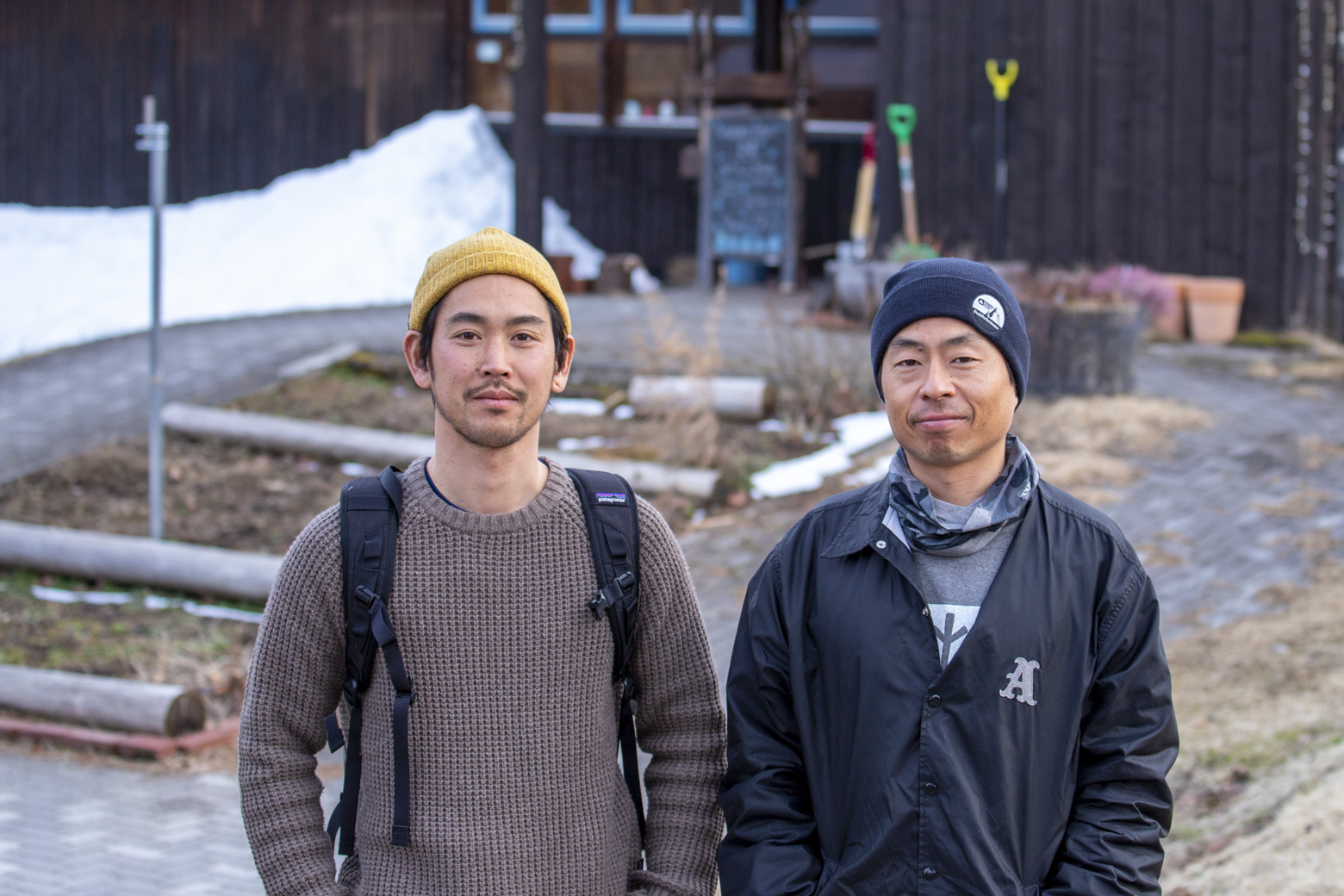 小松さん(右)と高田さん(左)