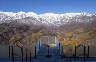 白馬大雪渓の一部