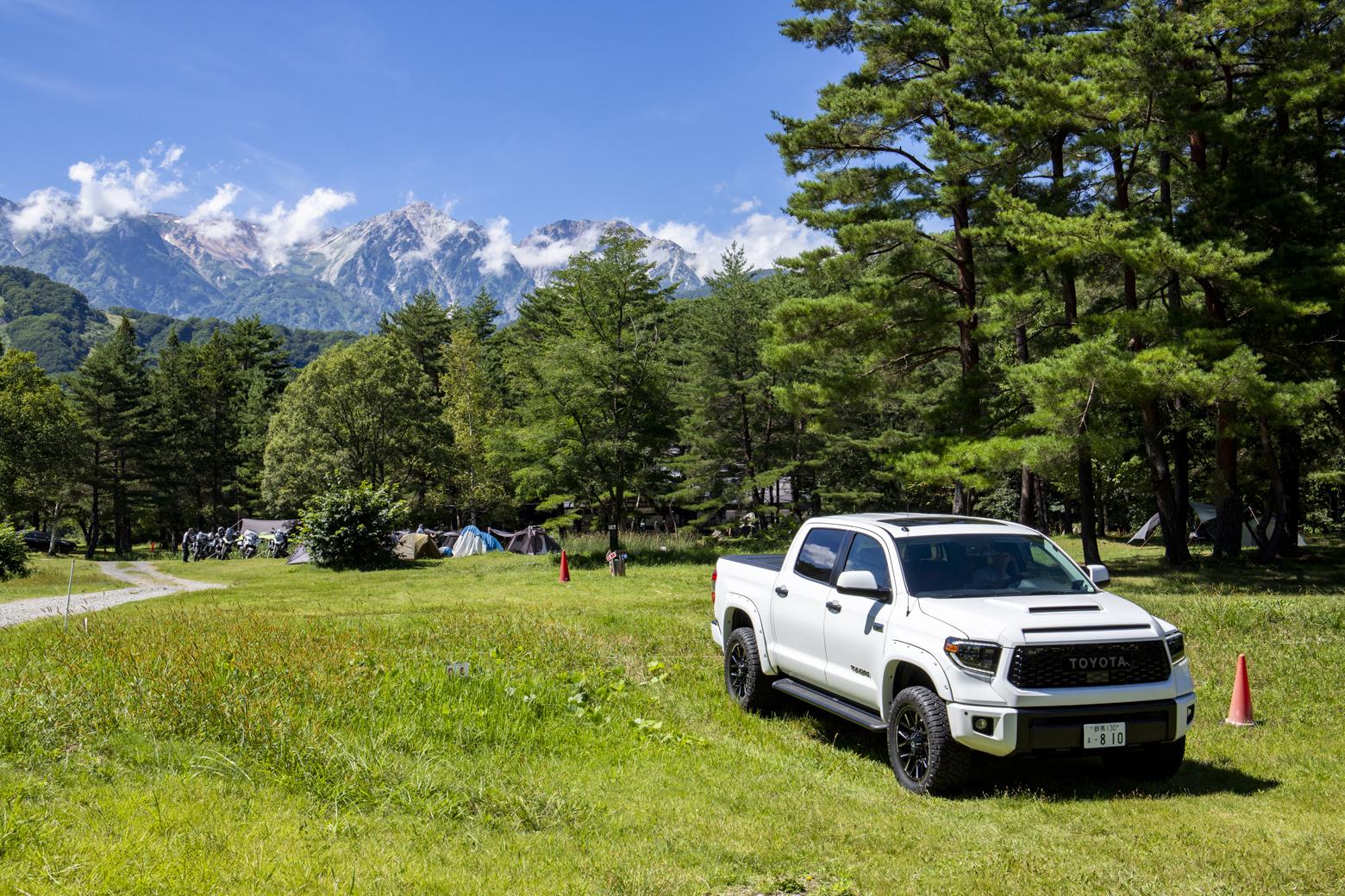 大人数でのキャンプ、大型キャンピングカーでの旅にも最適!