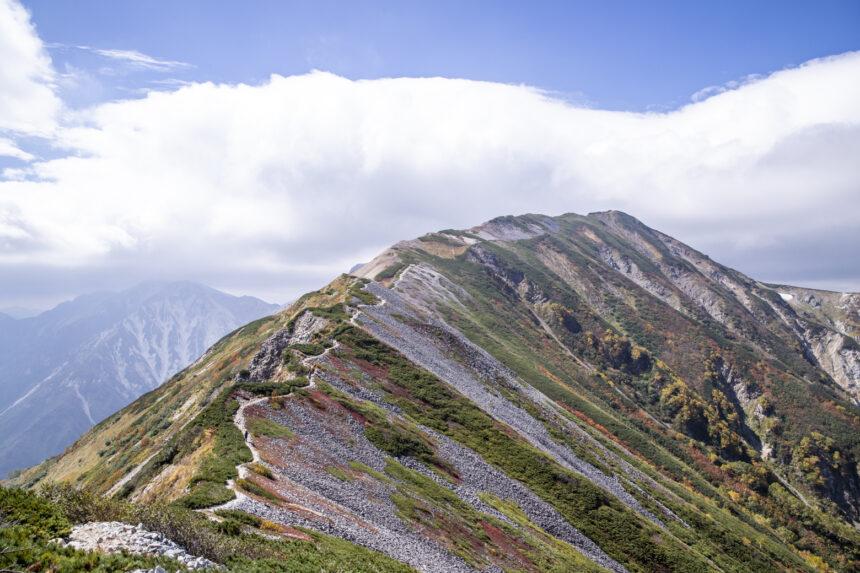 船越の頭から見る小蓮華山